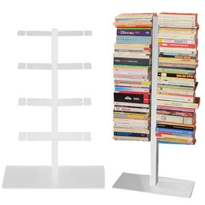 Radius Booksbaum Bücherregal mit Stand klein weiss - 716 b