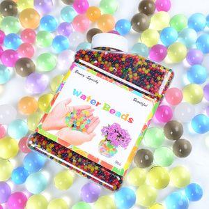 30000pcs Wasserperlen Regenbogenmischung Kristallboden ungiftige Flaschenverpackung fuer Innendekoration Luftfrisches Kinderspielzeug Kreativspielzeuge【Mehrfarbig】