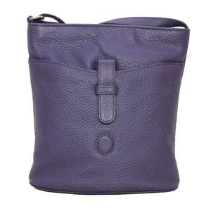 Eastern Counties Leather Damenhandtasche Faye EL169 (Einheitsgröße) (Violett)