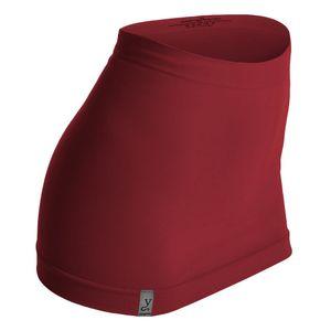 Kidneykaren Nierenwärmer Basic- Tube Multifunktion Yogagurt Fitness & Freizeit Brick Red (rot), Größe:XS