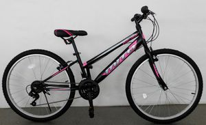 26 Zoll Fahrrad Mädchen Damen Rad Jugendrad MTB Mountainbike Schwarz Pink 2602