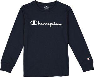 Champion Kinder Longsleeve T-Shirt American Classics navy M | 140 | 9/10 Yrs