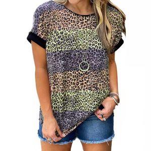 Sommer kurzärmliges lockeres Top-Sweatshirt für Damen,Farbe: Orange,Größe:M
