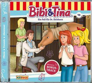Bibi & Tina - Folge 98: Ein Fall für Dr.Eichhorn - Compactdisc