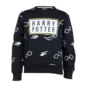 Harry Potter - Sweatshirt für Mädchen PG1269 (122) (Schwarz)