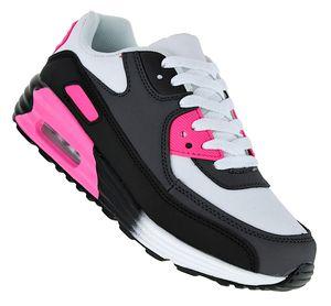 Pink Power Damen Turnschuhe Schuhe Sneaker Sportschuhe Luftpolstersohle 030, Schuhgröße:38, Farbe:Modell 9