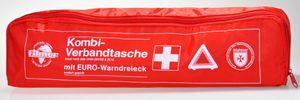 Filmer 17.998 Kfz -/Auto Verbandtasche mit Warndreieck Farbe ROT gem. DIN 13164