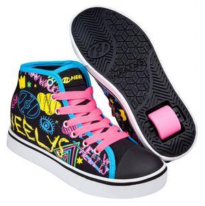 Heelys Veloz Schuhe schwarz-rainbow Mädchen