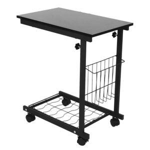 Höhenverstellbarer Schreibtisch mit abnehmbaren Rädern Sofa-Beistelltisch