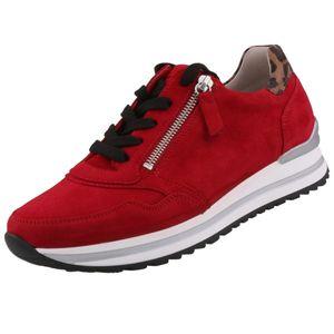 GABOR Damen Sneaker Rot, Schuhgröße:EUR 39
