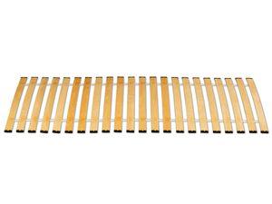 Premium Rollrost 22 Federleisten mit Kappen Lattenrost Rolllattenrost, Betten-Abmessung:100 x 200