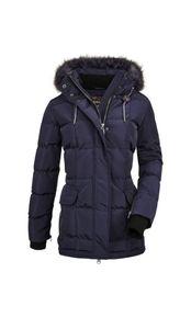 G.I.G.A DX - Damen Casual Jacke in Daunenoptik mit abzippbarer Kapuze, Ventoso WMN Quilted JCKT F (36447), Größe:44, Farbe:Navy (00880)