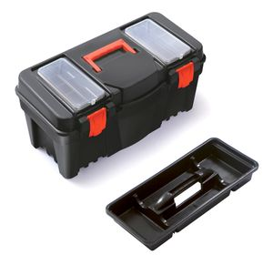 Terra Werkzeugkiste Kunststoff Werkzeugkoffer leer Werkzeugbox