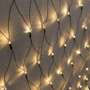 LED Lichternetz - 320 Lichter / 3x1,5m