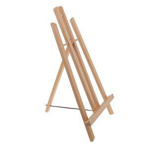 Einstellbar Tragbarer Holztisch Staffelei Für Malerei Bild 50cm Anzeige