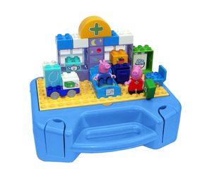 BIG Spielzeug Steckbausteine Bloxx Arztkoffer Peppa Pig 32 Teile 800057144