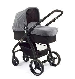Chic 4 Baby Kombikinderwagen VOLARE Grau-schwarz; 175 60