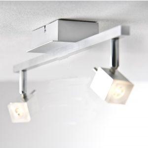 Paulmann 601.19 QuadLED Wand- und Deckenstrahler 2 x 3 W LED