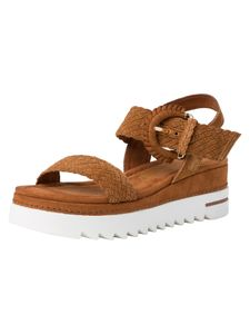 Marco Tozzi Damen Sandalette braun 2-2-28744-36 F-Weite Größe: 42 EU