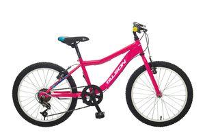 TALSON 20 Zoll Fahrrad CATCHER mit 6 Gang Schaltung Pink