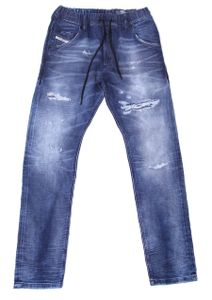 Diesel Krooley-X-NE Herren JoggJeans , Farbe:Blau, Größe:32