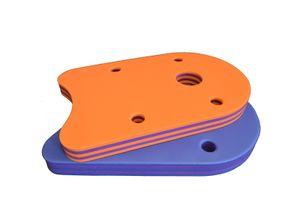 Schwimmbrett Klassik 480x300x38mm  Baby, Kinder, Erwachsene - Stripes - Gestreift Orange