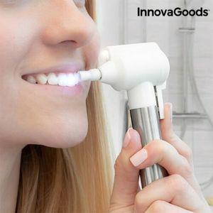GKA Zahnpolierer Zahnweiß Polierer Zahnaufheller weiße Zähne + 8 Aufsätze LED Licht