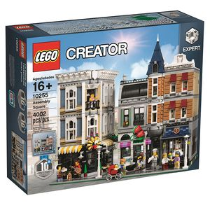 LEGO Creator Stadtleben 10255, 4002 Teile, 38 cm, 25 cm, 35 cm