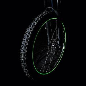 Glow Garage Fun Fahrrad Leuchtstreifen Felgen Deko Licht Set 5tlg