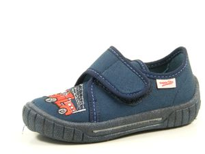 Superfit 8-00278 Bill Schuhe Kinder Hausschuhe Jungen Weite Mittel IV , Größe:26 EU, Farbe:Blau