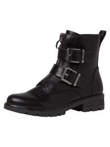 Tamaris Damen Stiefelette schwarz meliert 1-1-25414-25 normal Größe: 39 EU