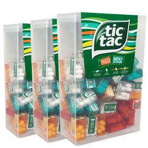 3er Pack tic tac Lilliput bestehend aus 180 Mini-Boxen