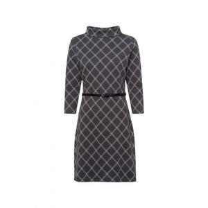 Zero Kleider kurz Damen Dress Größe 34, Farbe: 9362 anthracite-m