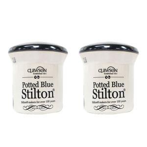 Ruwisch & Zuck Käse Blue Stilton im Tontopf 2er-Set 200g