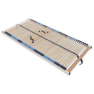SUPERFLEX NV-MZV 7-Zonen-Montagerost, 42 stabile Federholzleisten mit durchgehenden Holmen : 100x200 Größe: 100x200