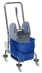 Sprintus Einfachfahreimer Chrom, 27 Liter; 301035