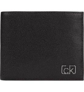 Calvin Klein - CK signature RFID - bifold 5cc w/ coin - Herren - black