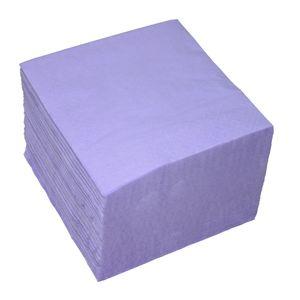 100 Servietten 2-lagig ca. 24x24cm lila