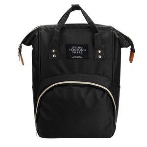 Wickeltasche Babytasche Wickelrucksack Baby Tasche Mummy Bag Hohe Kapazität Rucksack Farbe: Schwarz