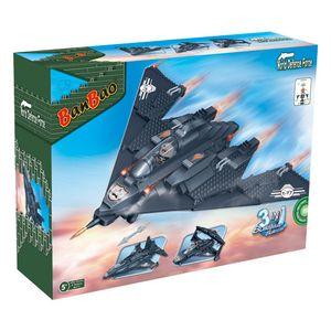 3-in-1 Fighter Banbao 8477 Konstruktion Spielzeug