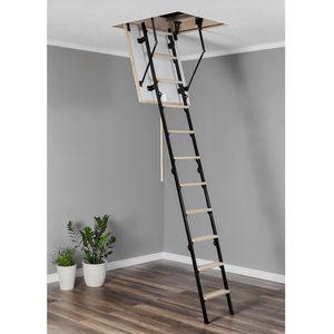 Bodentreppe Speichertreppe Dachbodentreppe Treppe Mini 60x80 H265CM