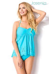 JASENIA Swim Set Bikini in blau Größe S = 36