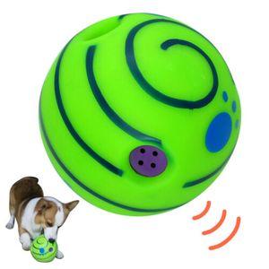 Hundespielzeuge Wobble Wag Giggle Ball für Hundespielzeug 14cm Spaß Geräusche wenn Gedruckt