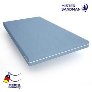 Kaltschaum-Matratze - 140 x 190 antiallergisch & abnehmbarer, waschbarer Bezug - Öko  -   Zertifikat