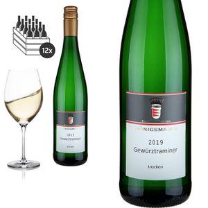 12er Karton 2019Gewürztraminer Spätlese trocken von Editha Gräfin von Königsmarck - Weißwein