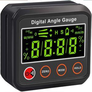 Magnetischer Digitaler Neigungsmesser Winkelmesser Finder Winkelmesser Level Box Winkelmessgerät Neigungsmesser Inklinometer