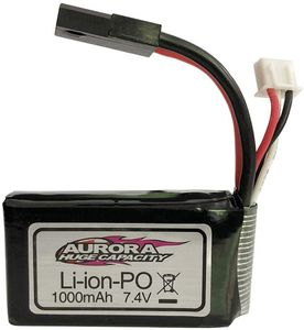 YUNIQUE DEUTSCHLAND Lipo Batterie 7.4V 1000mAh für 1/16 XLH 9130 9136 9137 Auto RC 4WD Truck Rocker Crawler
