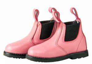 HORKA stall-/Reitschuh Jodhpur-mini Junior Leder rosa Größe 28