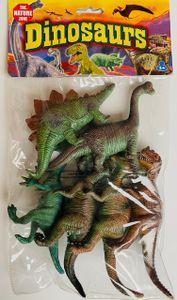 Dinosaurier Spielfiguren, 6 Stück