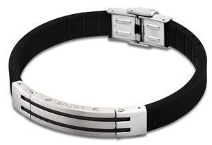Lotus Style Herren Armband LS1521-2/2 Edelstahl Kautschuk 21 cm